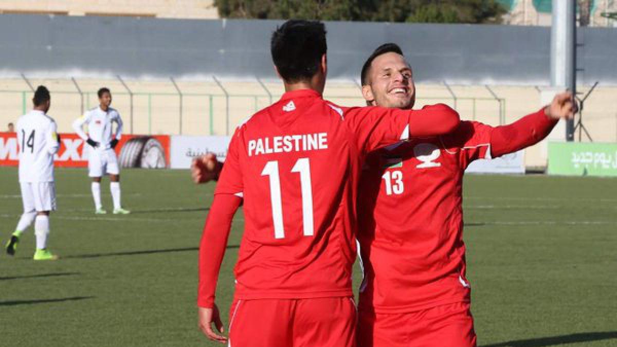 Chilenos brillan en goleada de Palestina sobre Timor Oriental por Clasificatorias