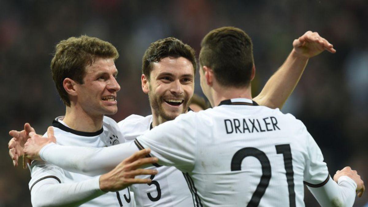 Alemania y Francia golean en duelos preparatorios para la Eurocopa