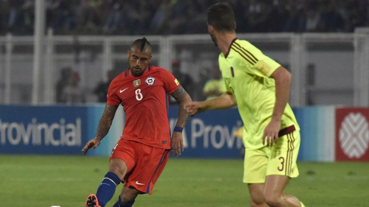 [Minuto a Minuto] La Roja está derrotando a Venezuela con goles de Pinilla y Vidal