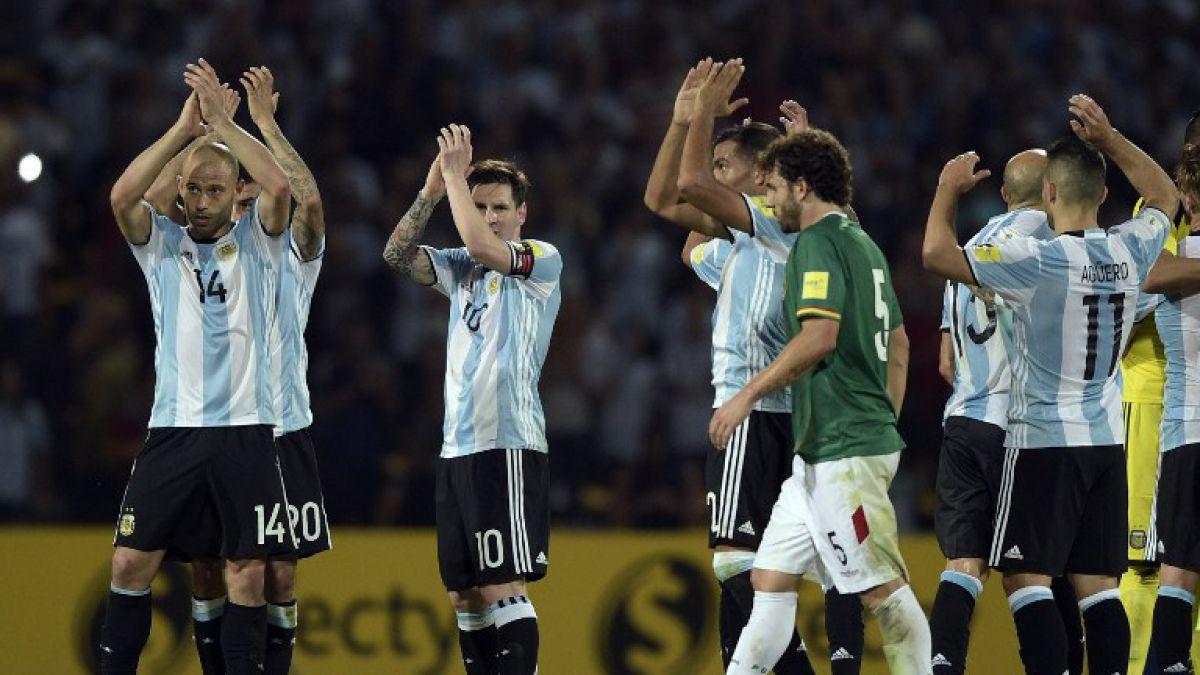 Argentina en racha: Con goles de Mercado y Messi vence a Bolivia en casa
