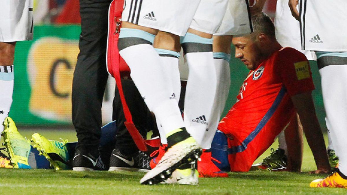 Celta de Vigo informa que Marcelo Díaz estará unas tres semanas de baja