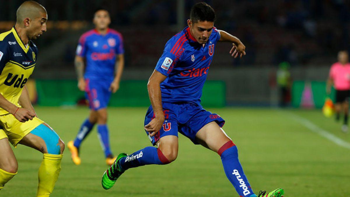 """Volante de la """"U"""" adelanta duelo con Wanderers y respalda a Johnny Herrera"""
