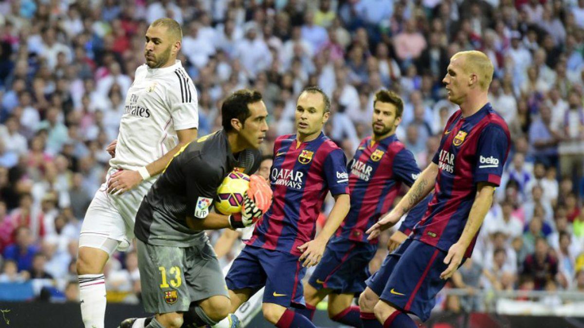 A mantener la racha: Los tres clásicos que ha disputado Claudio Bravo frente al Real Madrid