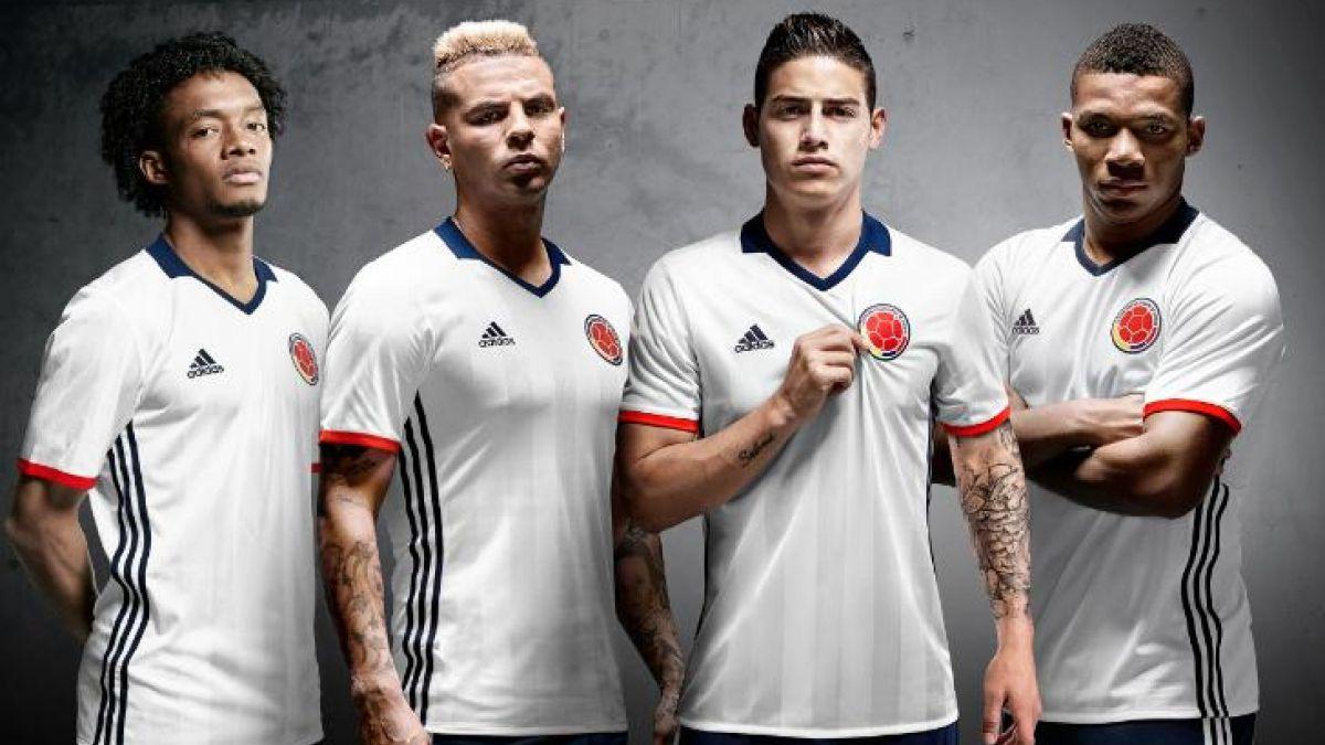 Colombia revela que utilizará camiseta blanca en la Copa América Centenario