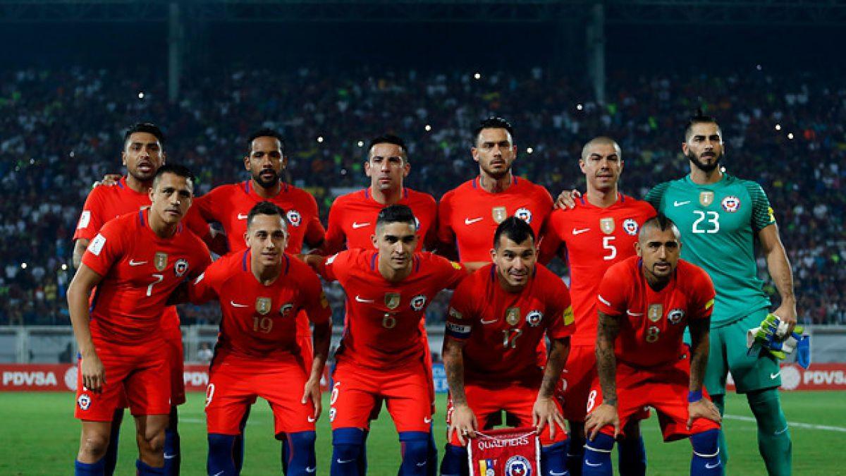 Chile subirá al podio del ránking FIFA tras su goleada ante Venezuela