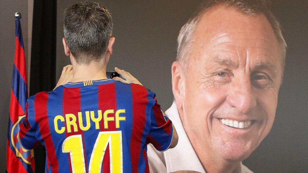 El Barcelona homenajeará a Cruyff en el clásico ante el Real Madrid