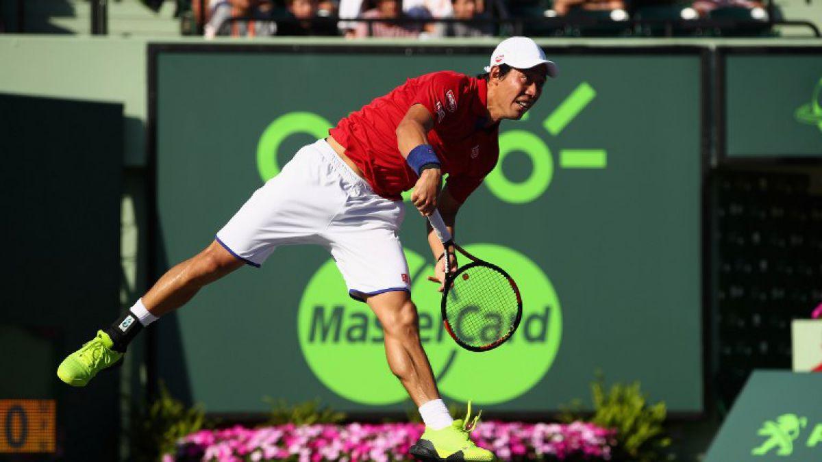 Nishikori se convierte en el 1° jugador japonés que llega a semis del Masters 1000 de Miami