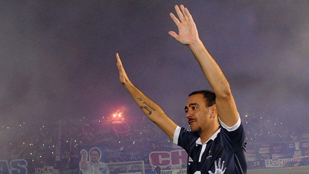 Uruguayo Álvaro Recoba vive una impresionante despedida del fútbol
