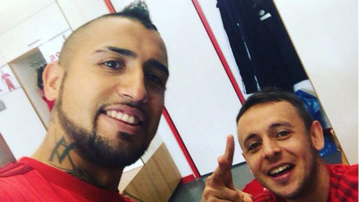[FOTO] Arturo Vidal retoma los entrenamientos en Bayern Munich