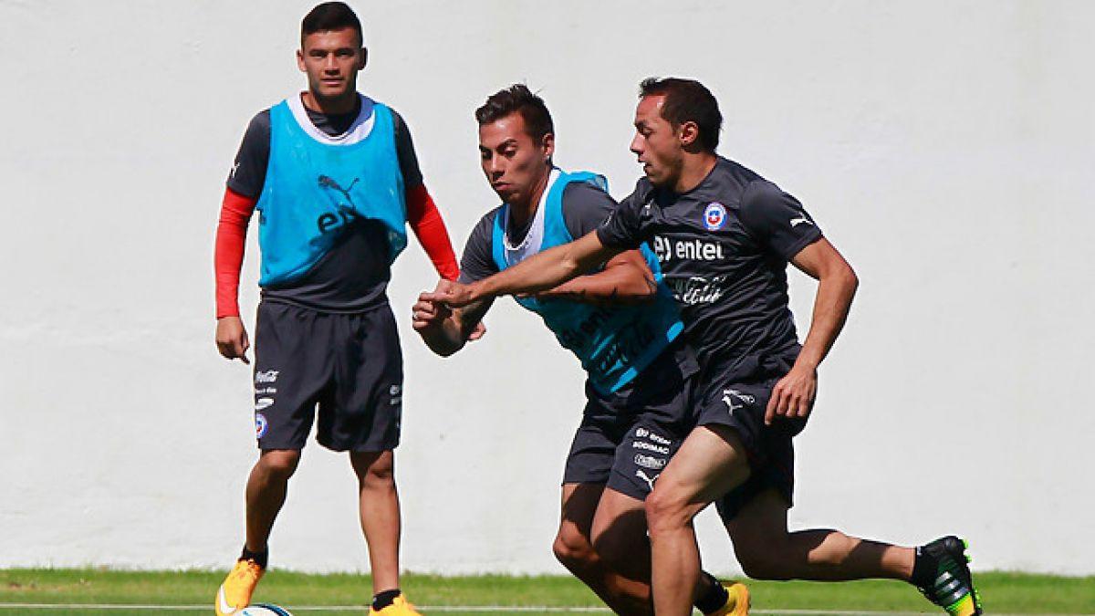 """Marcelo Díaz feliz por el retorno de Aránguiz: """"Qué alegría volver a verte jugar, hermano"""""""
