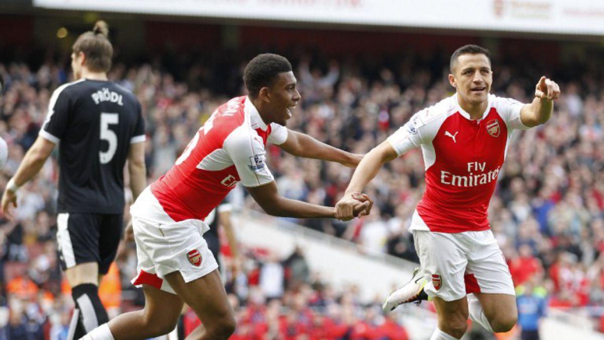[GOL A GOL] Arsenal golea a Watford con gran actuación de Alexis Sánchez