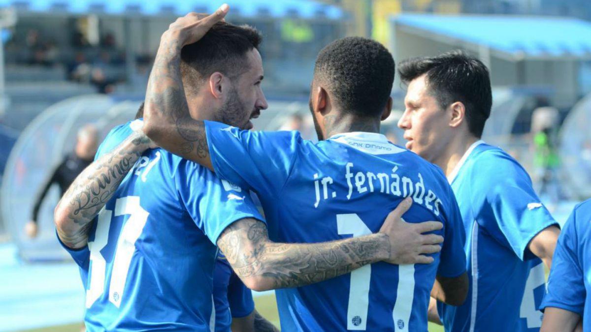 [VIDEO] Fernandes y Henríquez aportan dos goles para triunfo de Dinamo Zagreb