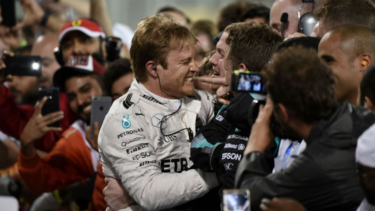 Nico Rosberg se queda con el Gran Premio de Bahrein de Fórmula 1