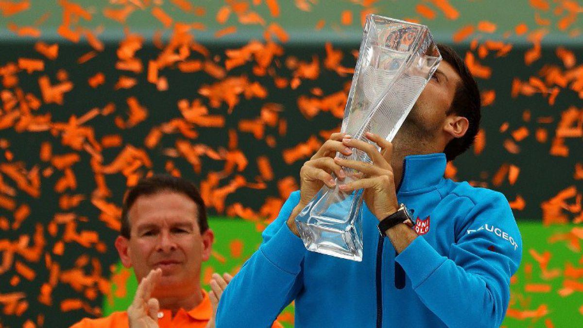 Djokovic se consagra campeón del Masters 1000 de Miami y establece dos récords