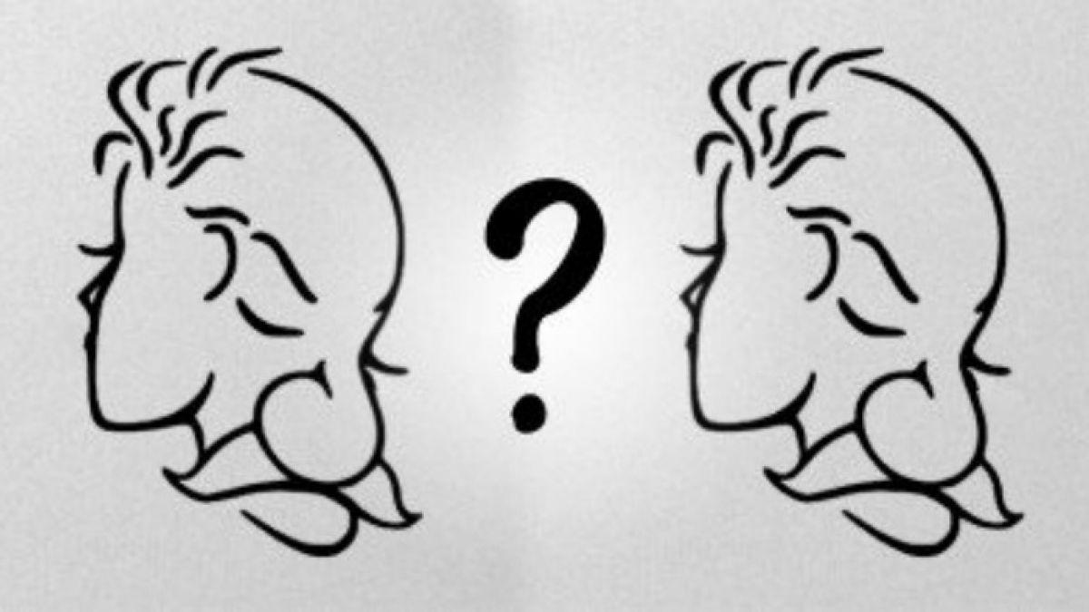 ¿Ves Un Hombre Mayor O Una Mujer De Perfil?