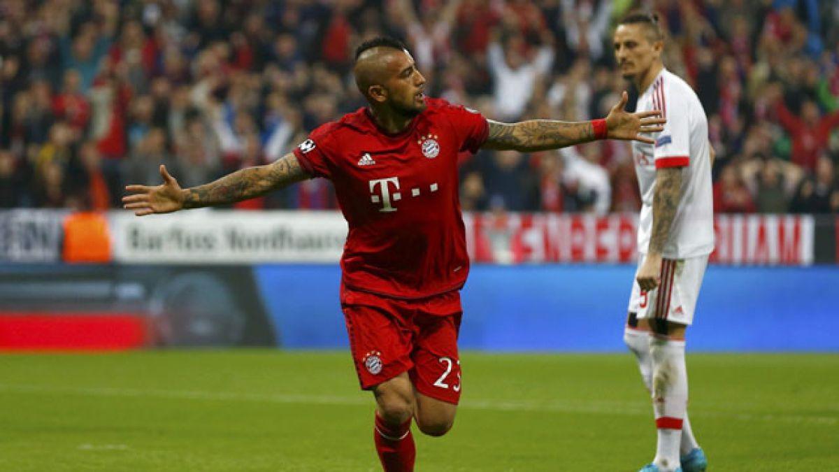 [Minuto a Minuto] Bayern Munich está venciendo a Benfica con gol de Vidal