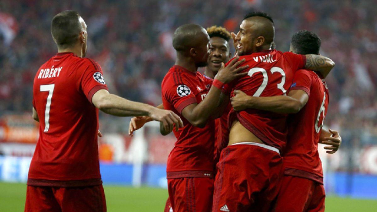 Bayern Munich da el primer golpe ante Benfica en la Champions con gol de Arturo Vidal