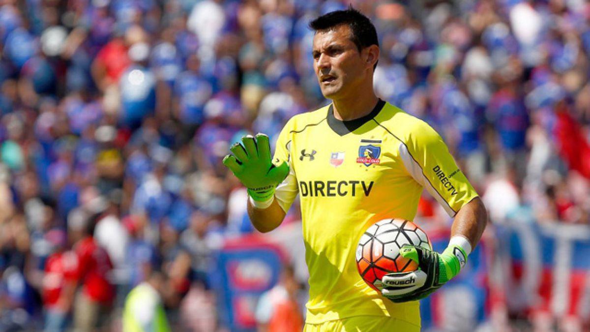 Justo Villar no viaja a Perú para duelo de Colo Colo por Copa Libertadores