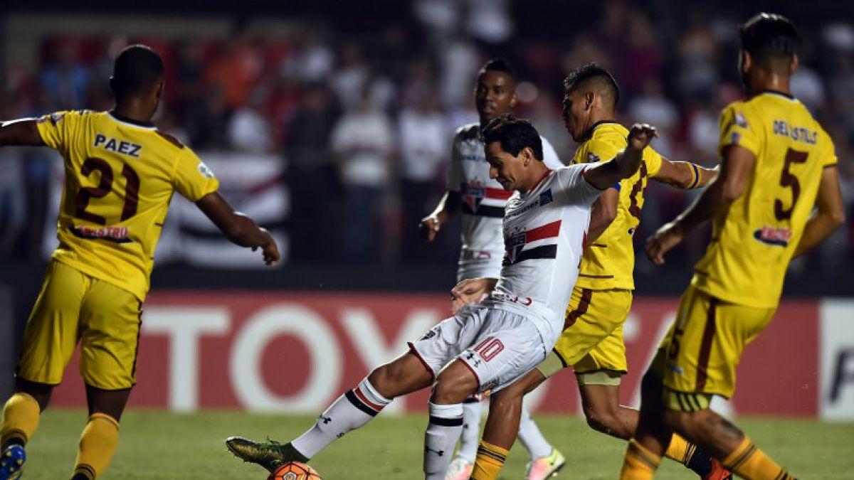 Copa libertadores: Sao Paulo golea a Trujillanos y obtiene importante respiro