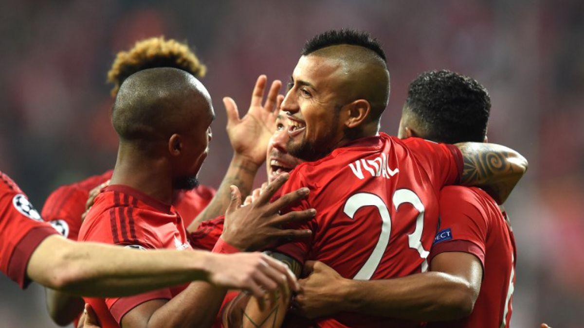 Bayern Munich buscará cuidar gol de Vidal para llegar a semis de la Champions