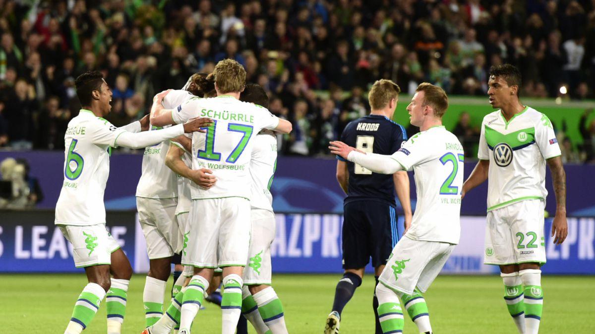 Wolfsburgo dio la gran sorpresa y se impuso al Real Madrid por Champions