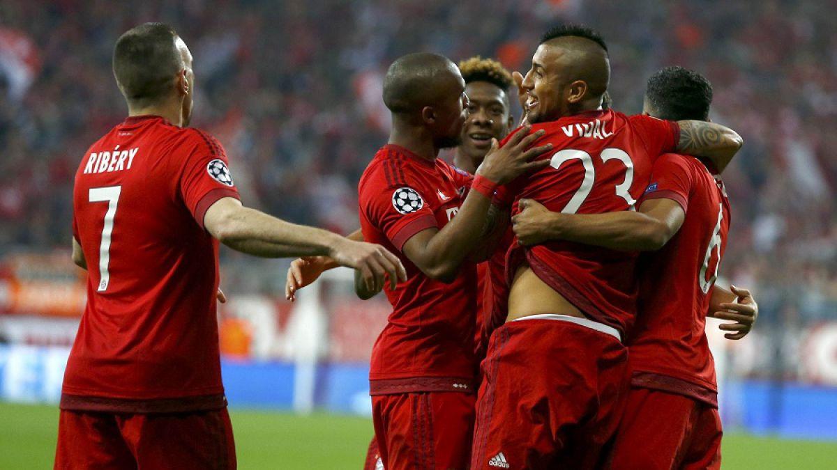 Vidal y el Bayern buscan alzarse con el título de la Bundesliga por adelantado