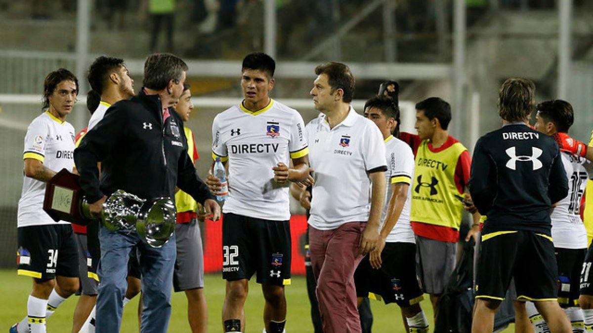 """Presidente de Colo Colo apuesta por el título: """"Católica se va a caer, se ha caído siempre"""""""