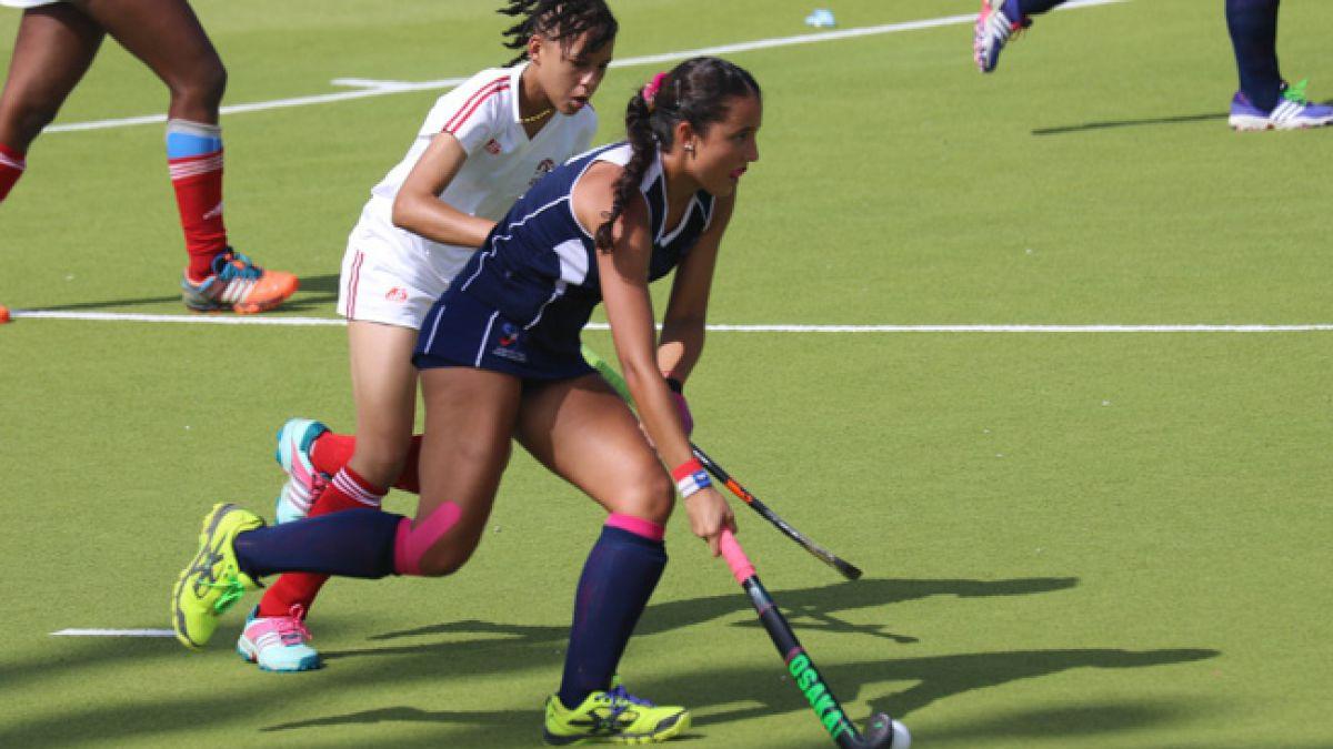 Selección chilena femenina de hockey cae en semis de Panamericano Junior de Trinidad y Tobago