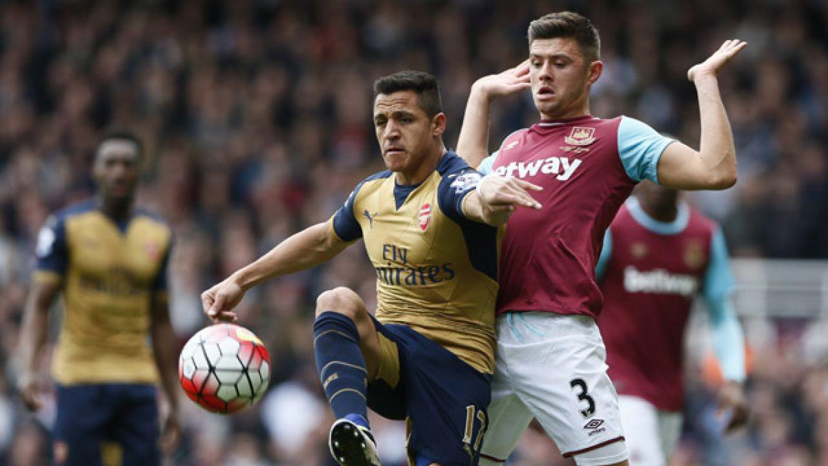 Arsenal FC iguala ante West Ham con gol de Alexis Sánchez