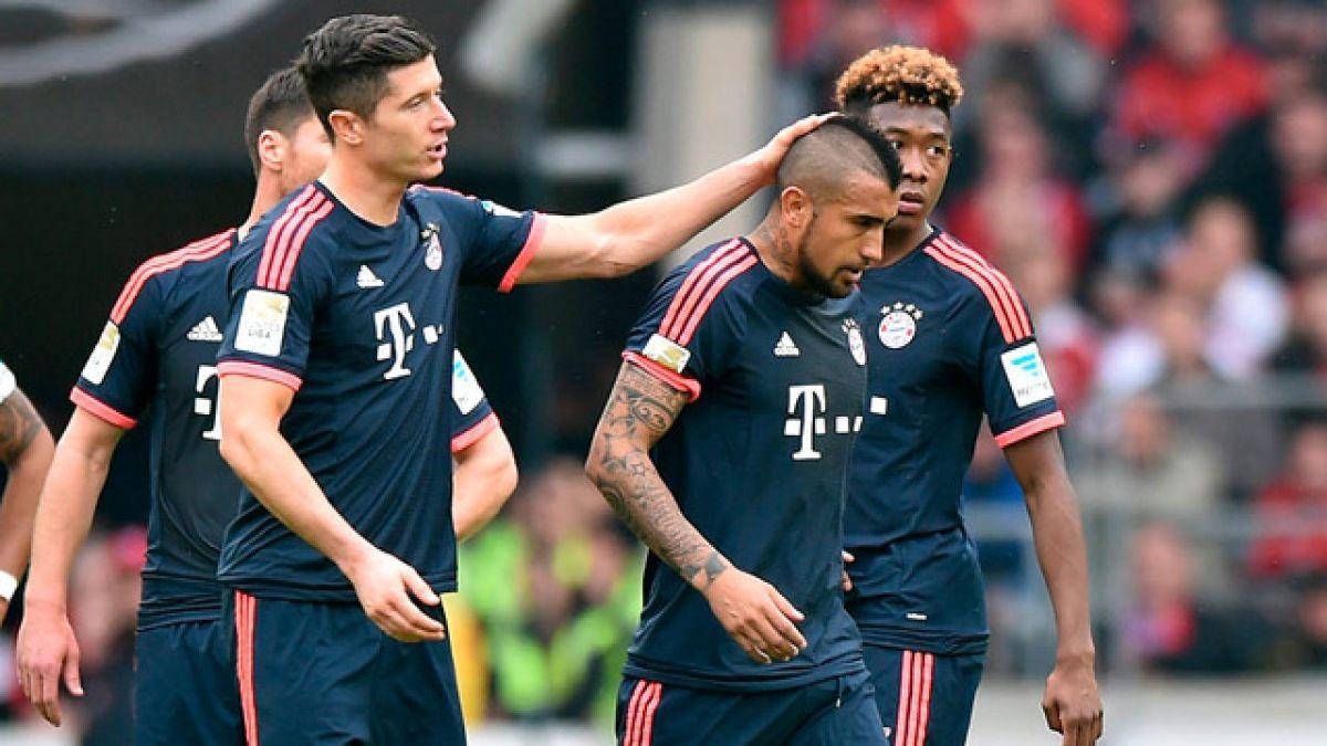 Bayern Munich vence a Stuttgart con breve actuación de Arturo Vidal
