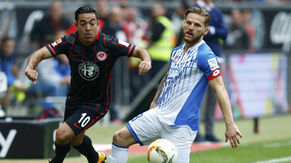 Hoffenheim de Eduardo Vargas vence a Eintracht Frankfurt