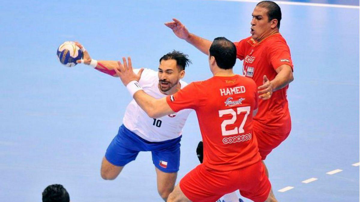 Selección chilena de balonmano pierde chances de clasificar a los Juegos Olímpicos