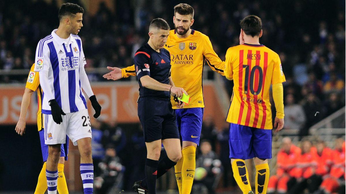 Barcelona cae ante Real Sociedad y se complica en la lucha por el título en España