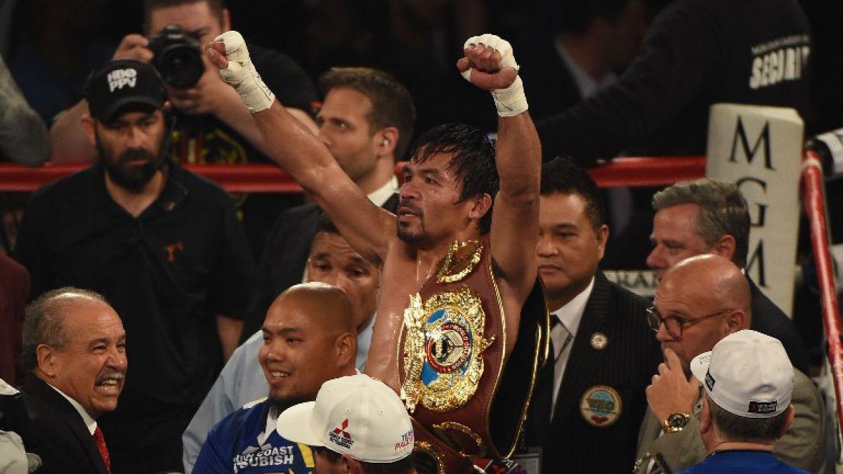 [FOTOS Y VIDEOS] Manny Pacquiao se despide del boxeo con un triunfo sobre Bradley