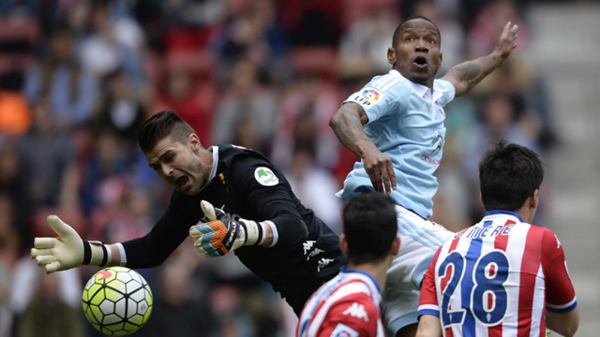 Celta de Vigo derrota a Sporting de Gijón con Orellana y Hernández en cancha