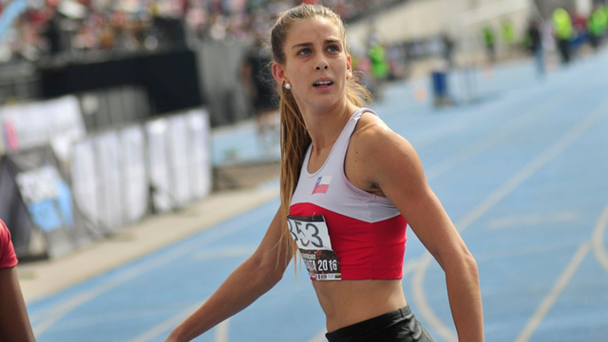 Isidora Jiménez logra segundo lugar en 100 y 200 metros planos en Orlando Guaita