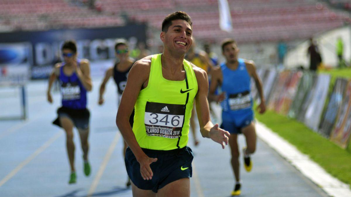 Orlando Guaita 2016: Iván López triunfa en los 1.500 metros planos