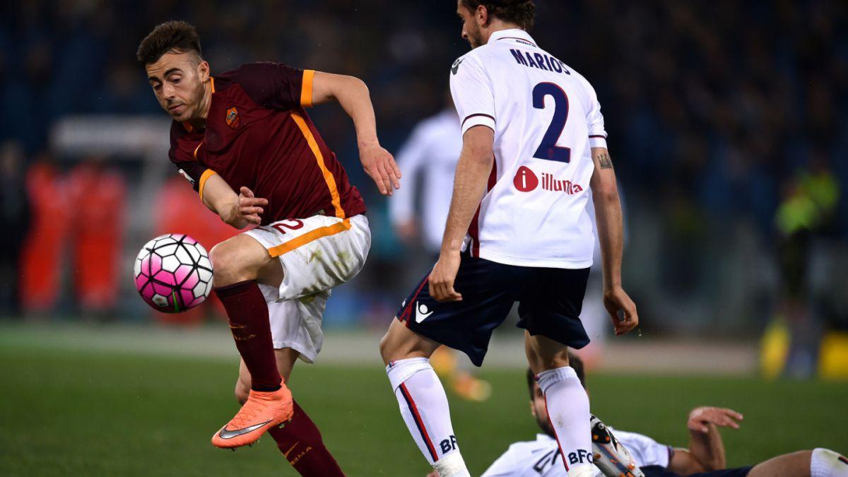 Una desafortunada acción de Erick Pulgar fue clave en empate de Bologna ante Roma