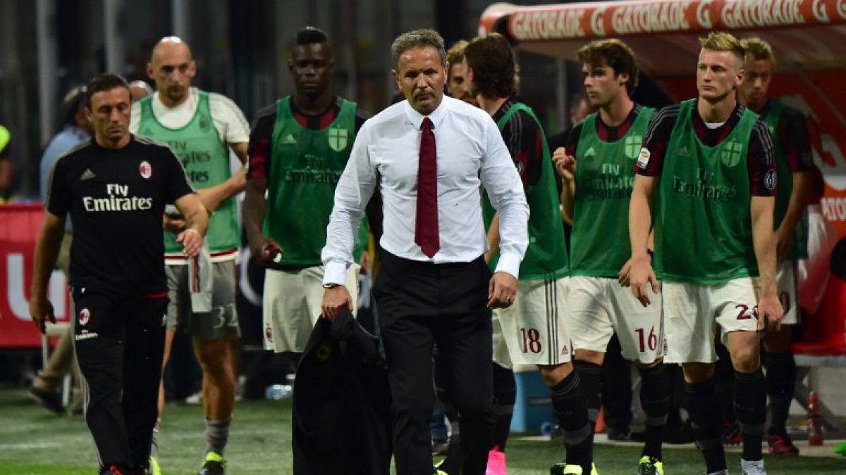 Cambio en la banca del Milan: Cristian Brocchi asume en reemplazo de Mihajlovic