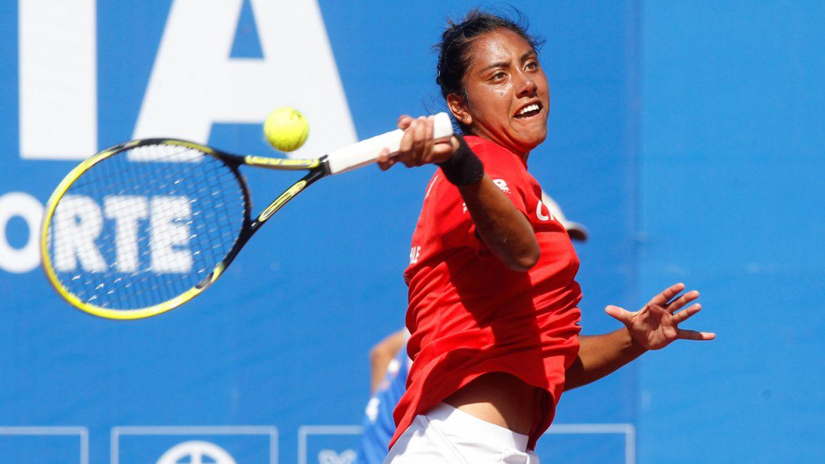 Daniela Seguel dijo adiós en un disputado partido que marcó su debut en torneos WTA