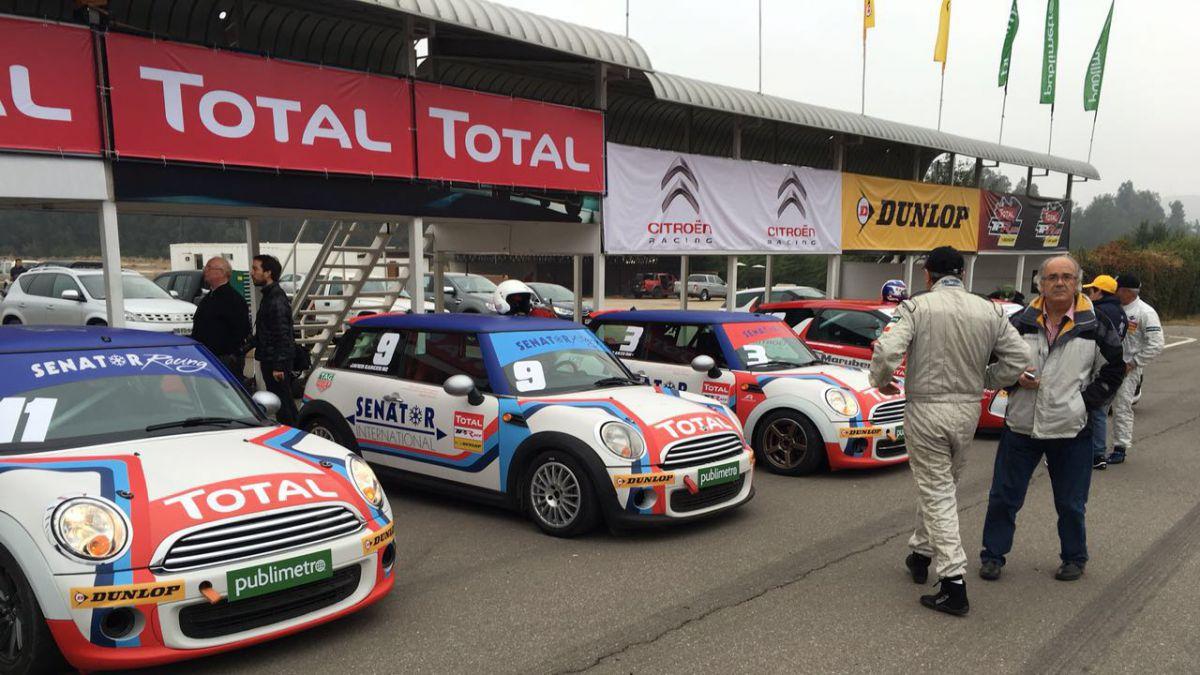 Vuelve el automovilismo a Chile con el lanzamiento del Total TP Race by Dunlop