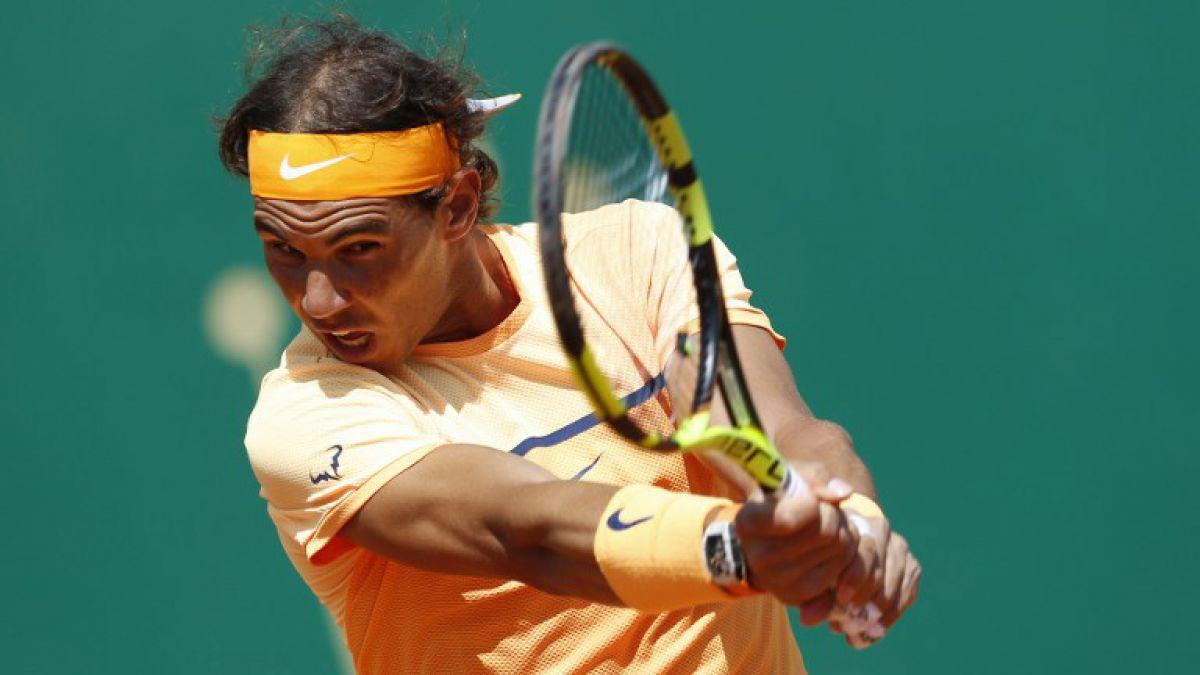Rafael Nadal realizó homenaje a Kobe Bryant durante triunfo en Montecarlo