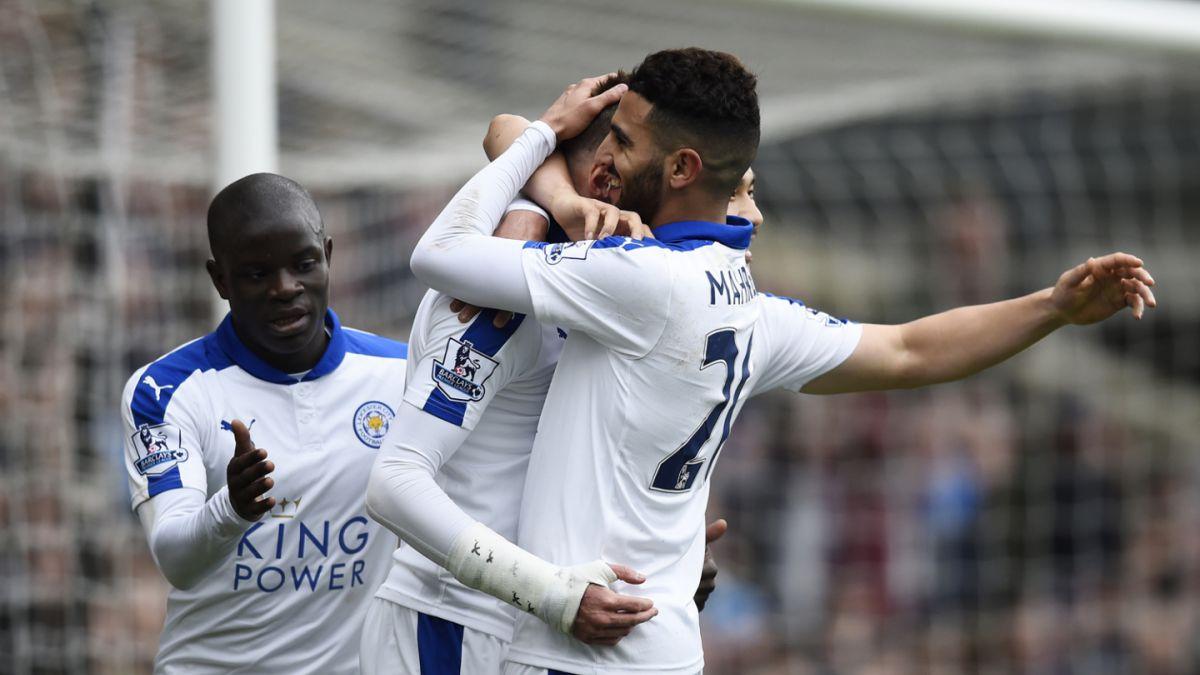 Figuras del Leicester destacan en candidatos a mejor jugador de la Premier League