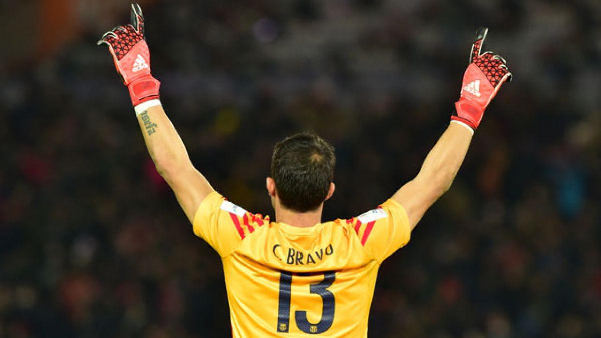 FC Barcelona saluda a Claudio Bravo en el día de su cumpleaños