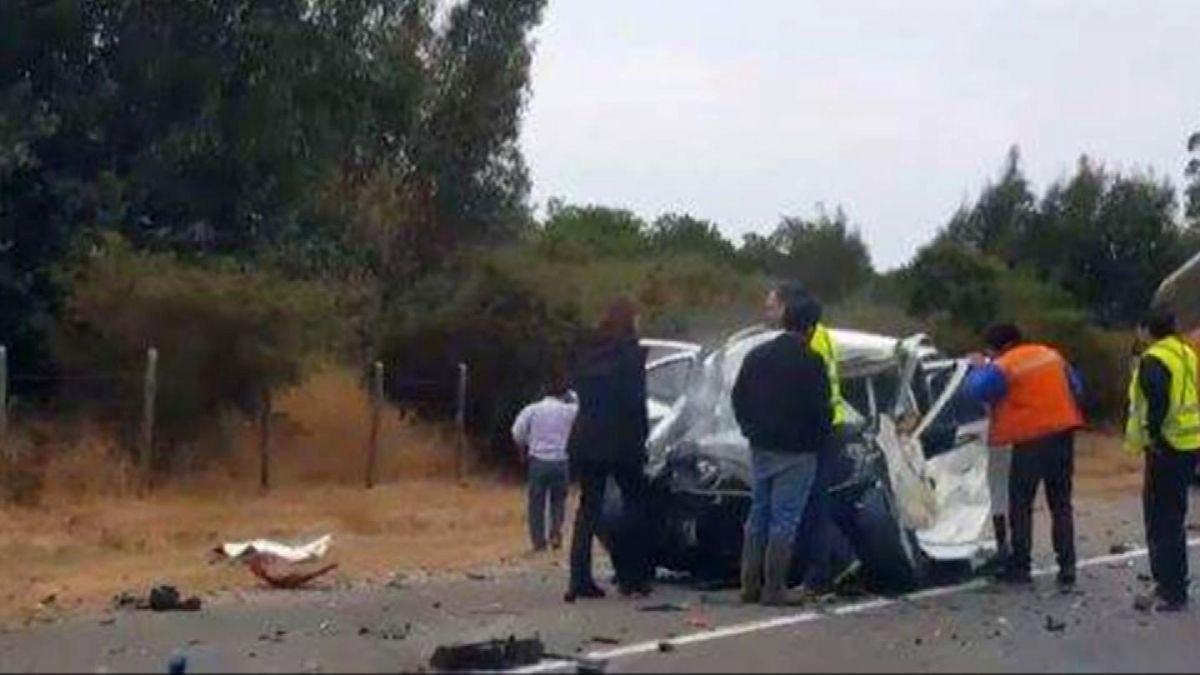 Diecinueve muertos dejan accidentes de tráfico en Chile en fin de semana