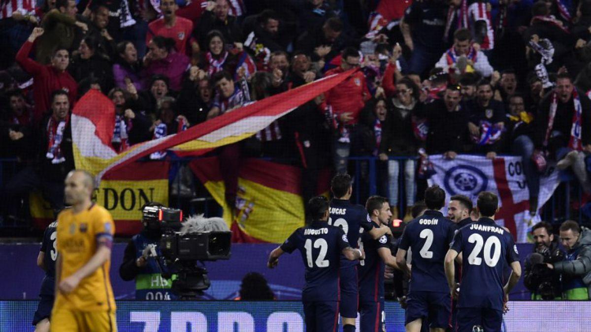 Atlético de Madrid dio el gran golpe en Champions y eliminó al Barcelona