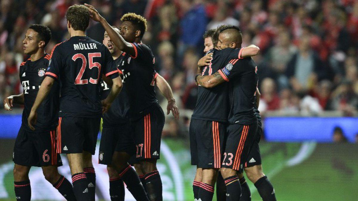 Arturo Vidal puede ser campeón este sábado en Alemania junto al Bayern Munich