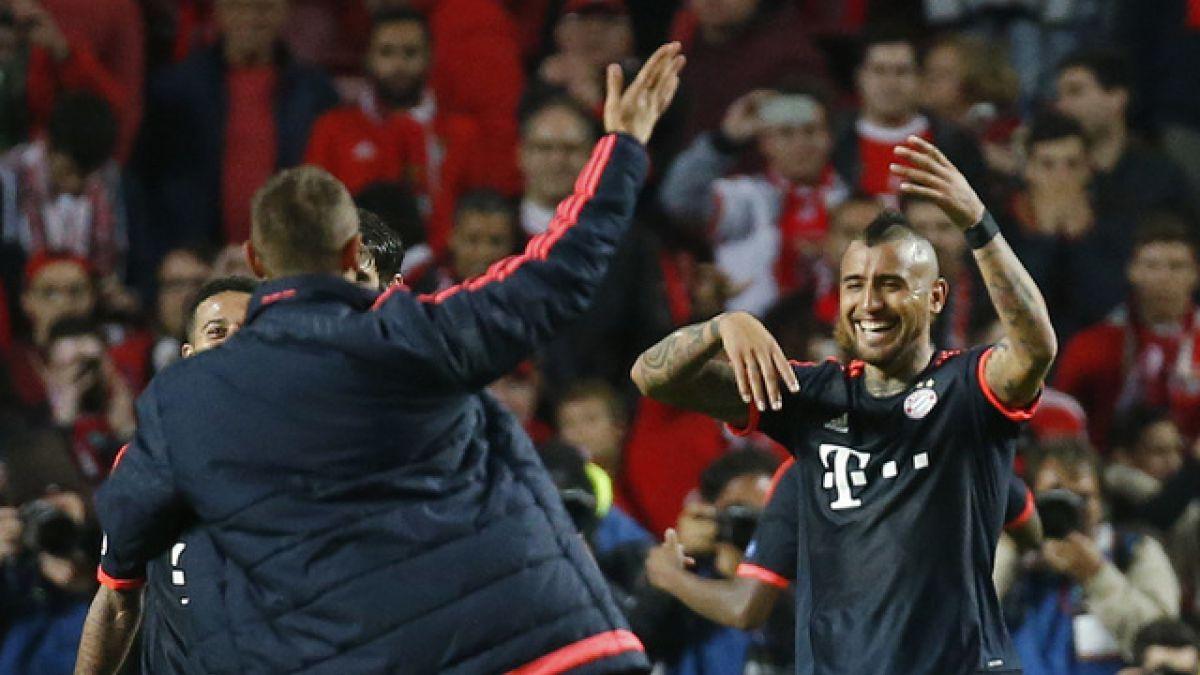 Arturo Vidal se convierte en el chileno con más goles en la Champions League