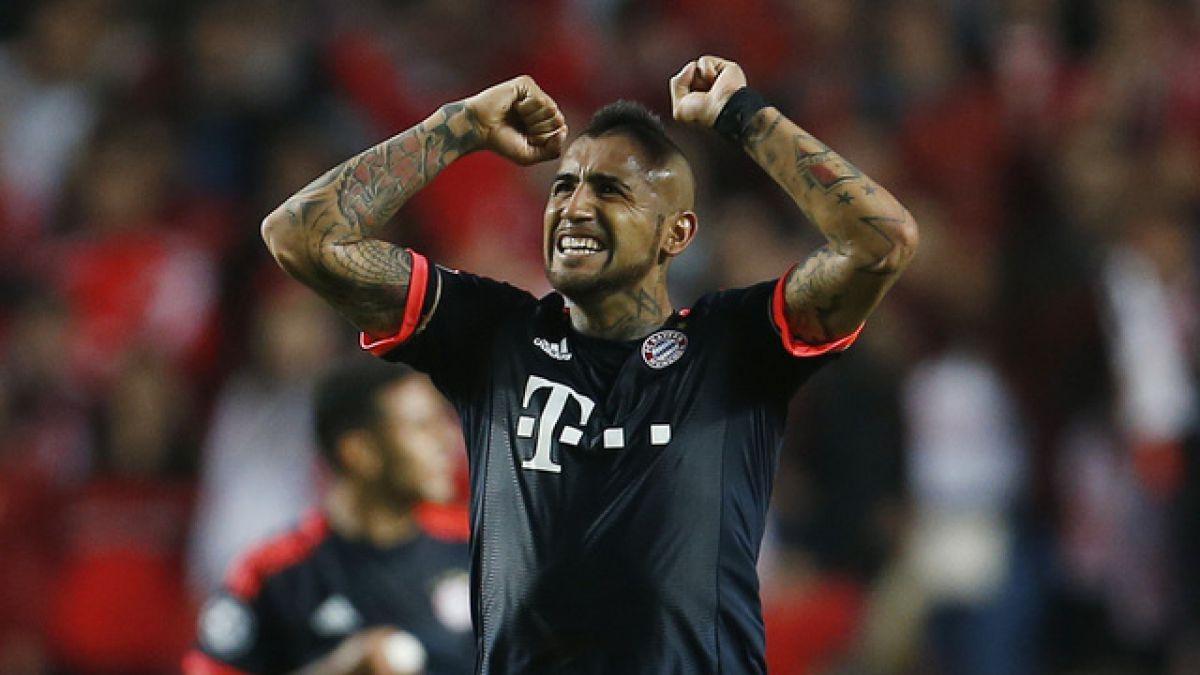 """Vidal tras ser la figura del Bayern: """"Mi objetivo es ser campeón de la Champions"""