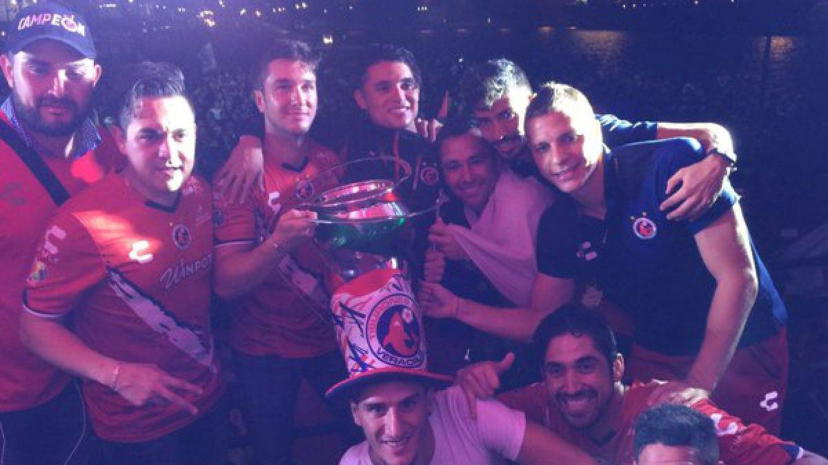 Fernando Meneses y Veracruz se quedan con la Copa MX en México